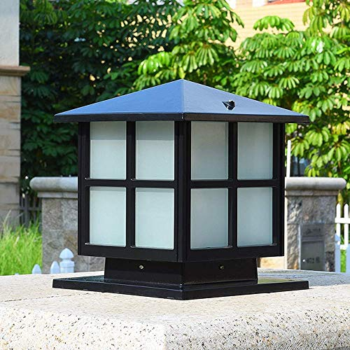 Outdoor Street Light, Wall Lamp Post Headlight Garden Community Square Wall Pillar Lamp Outdoor Waterproof Villa Garden Gate Light Door Column Lamp Lantern Light