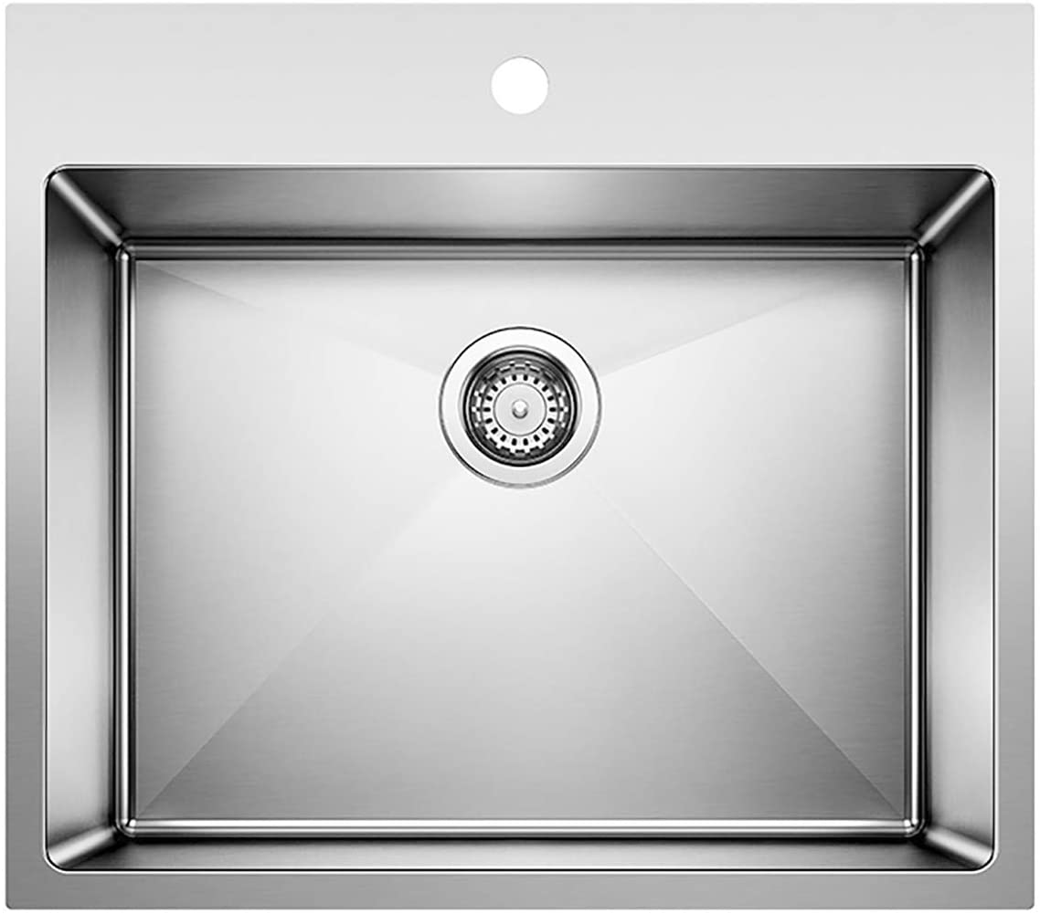 Concrete Gray 25 L x 22 W x 12 D BLANCO 442762 LIVEN Drop-In or Undermount Laundry Sink