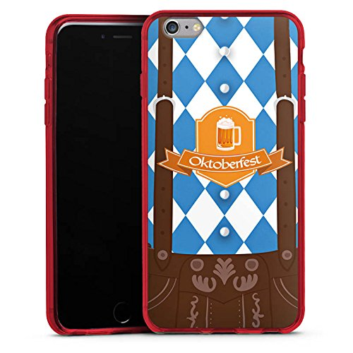 DeinDesign Silikon Hülle Case Schutzhülle für Apple iPhone 6s Plus Oktoberfest Lederhose München