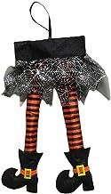 YTXTT Novidades pernas de bruxa, decoração divertida de Natal, fantasia de Halloween assustadora para porta de janela, car...