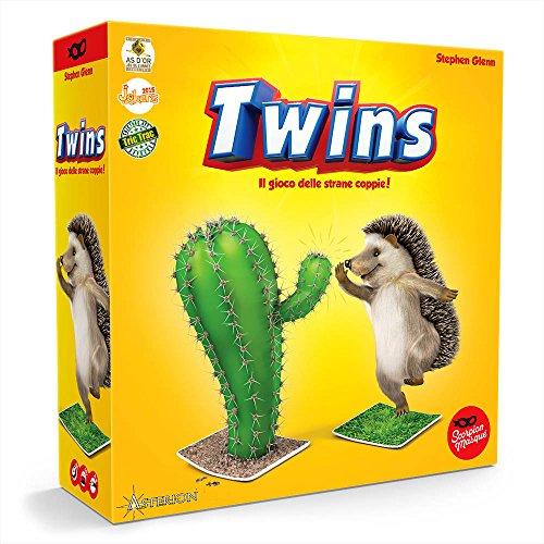 Asmodee 8145 - Twins, Edizione Italiana