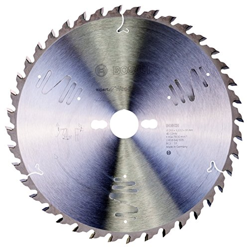 Bosch Professional 2608642505 Kreissägeblatt Expert für Wood, 250 x 30 x 3,2 mm, 40