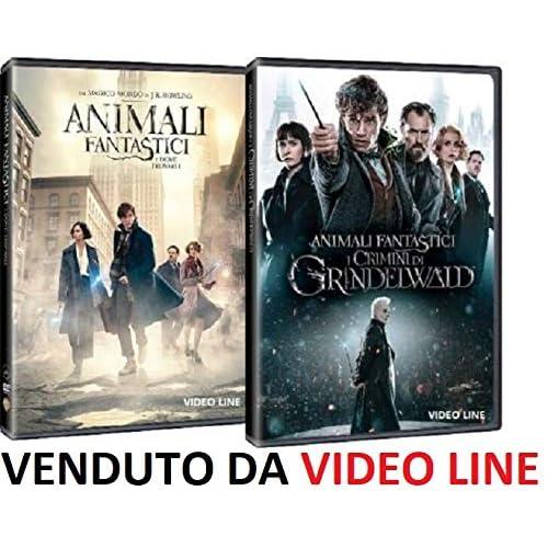Animali Fantastici - Dove Trovarli / I Crimini di Grindelwald - (2 Film DVD) Edizione Italiana