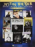 Justin bieber - sheet music collection piano, voix, guitare: 15 Hit Songs