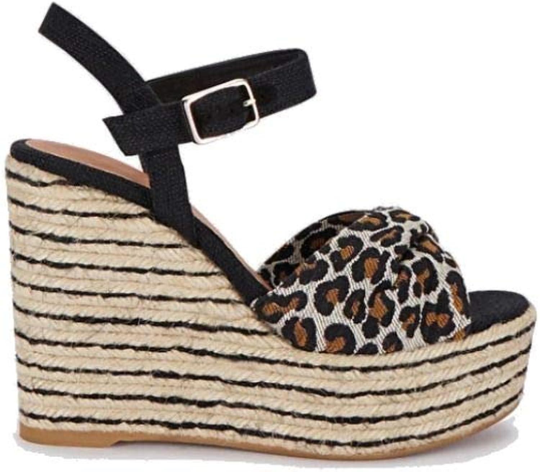Castaner Women's JEANNESS19012100 Black Other Materials Sandals