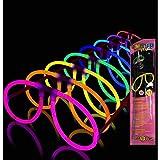 La Vida en Led 10 Gafas Luminosas Aviador Glow (Pack Individual) Entrega 1-3 DÍAS