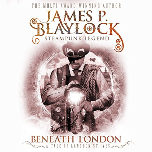 Beneath London audiobook cover art