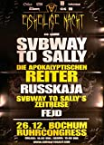 Subway To Sally - Bochum 2013 - Veranstaltungs-Poster A1