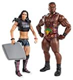 WWE Series #28 Big E Langston and AJ Lee Figure with Cookie Sheet (2-Pack)