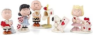 Lenox Peanuts Snoopy Valentine's Day Set of 5 Figurines