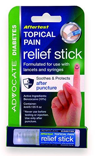 Advocate Aftertest tópica Pain Relief Stick, 0,7 onza 1 0,7 oz