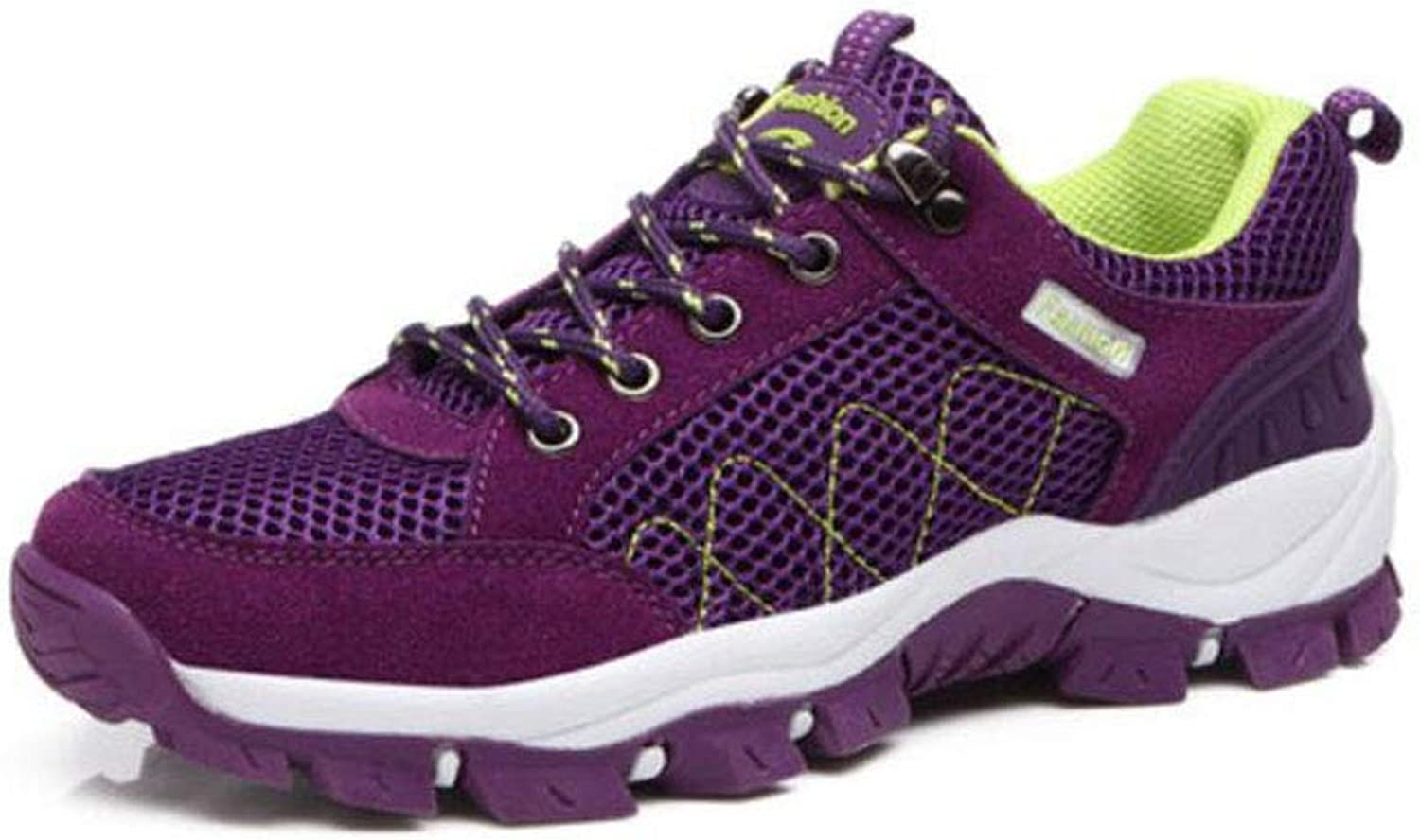 FH Hiking shoes Female Outdoor Walking shoes Waterproof Non-Slip Wear-Resistant Travel shoes Sports shoes