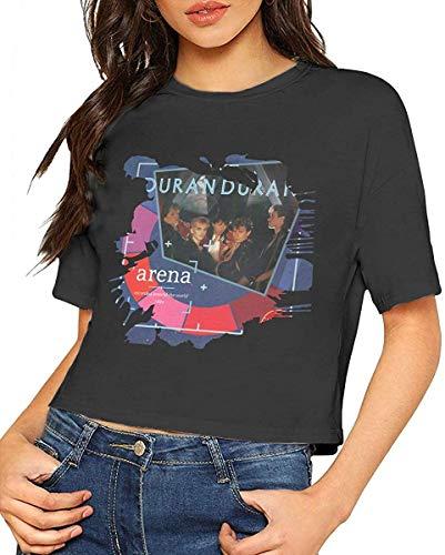 Ladies Duran Duran Arena T-shirt, Black or White, S to XL
