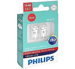 Blue 2 Pack Philips 194BLED Ultinon LED