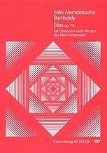 Mendelssohn: Elijah, Op. 70 (Vocal Score - German/English)