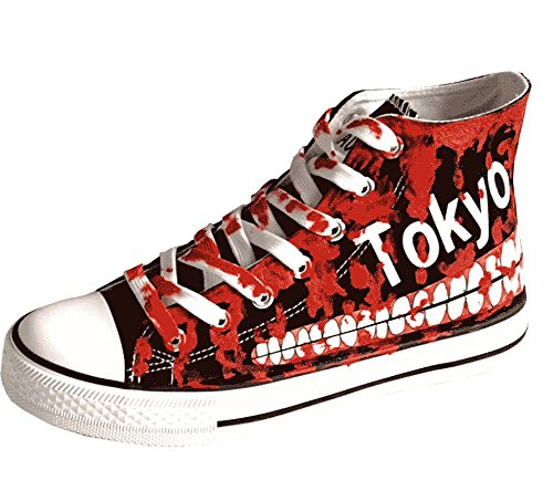 Telacos Tokyo Ghoul Bloody dents Cosplay Chaussures...