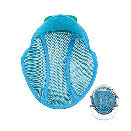 JULANIE 安全保護用品 ヘルメット インナーパッド 汗取り メッシュ素材 清潔 通気 帽子に 汗を止める 四季節用 冬 暖かく 夏 ひんやり内皮で頭を楽に 作業用冷却メッシュ[並行輸入品]