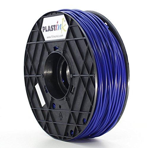 Plastink ABS300BL1 Filamento per Stampante 3D in ABS, Diametro 3 mm, Blu