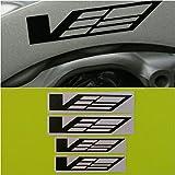 R&G CTS-V Logo Brake Caliper HIGH TEMP Decal Sticker Set of 4 (Black)