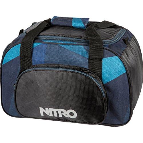 Nitro Sporttasche Duffle Bag XS, Schulsporttasche, Reisetasche, Weekender, Fitnesstasche,  40 x 23 x 23 cm, 35 L, 1131-878019_ Fragments Blue