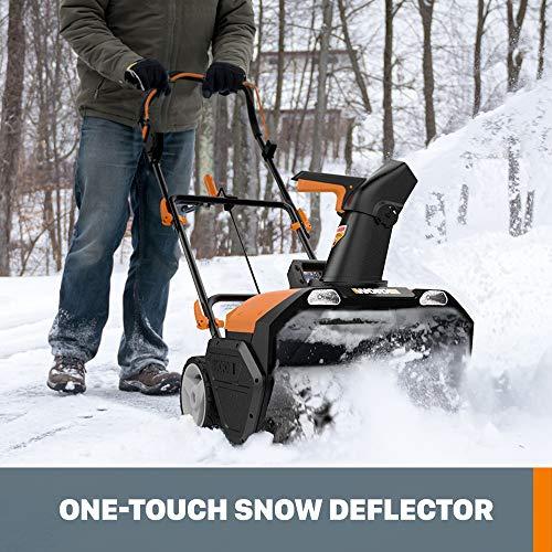 "WORX WG471 40V Power Share 20"" Cordless Snow Blower with Brushless Motor"