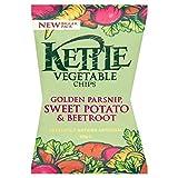 Kettle Pastinaca, Patata Dolce E Patatine Barbabietole Verdura 125g (Confezione da 2)