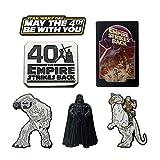 Star Wars: The Empire Strikes Back 40th Anniversary Enamel 6 Pin Set (Amazon Exclusive)