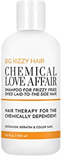 Sponsored Ad - Big Kizzy Chemical Love Affair Shampoo - Damage Repair for Bleached, Highlighted & Colored Hair, Keratin & ...