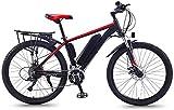 Bicicletas Eléctricas, Bicicleta eléctrica Bicicleta de montaña adultos 36v 13Ah litio-ion 350w motor 27 Velocidad Shifter llevó Display 35 kmh portátil de bicicletas for adultos Hombres Mujeres ,Bici