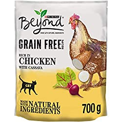 Made Without Corn, Wheat Or Soy Complete cat food made with natural ingredients No added artificial colours, flavouring or preservatives Created by our Purina experts