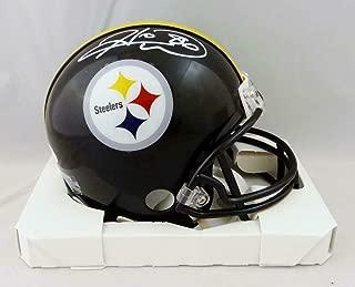 Hines Ward Signed Mini Helmet - W Auth *White - JSA Certified - Autographed NFL Mini Helmets