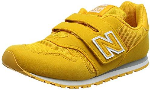 New Balance Kv373v1y, Sneaker Unisex-Bambini, Giallo (Yellow), 35 EU