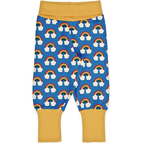Maxomorra Baby Rib Pants Rainbow 98/104