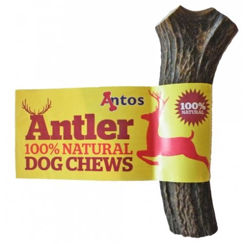 Antos Antler Dog Chew, Large (Shape may vary)