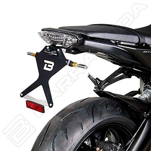 Barracuda - Portamatrículas para Yamaha MT-09