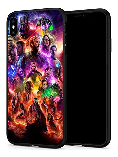 iPhone Xr Case, Hero Series Protection Cover Back Case for Apple iPhone Xr (Avengers-2)