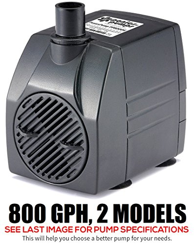 PonicsPumps 800 GPH (800 GPH : 6' Cord)