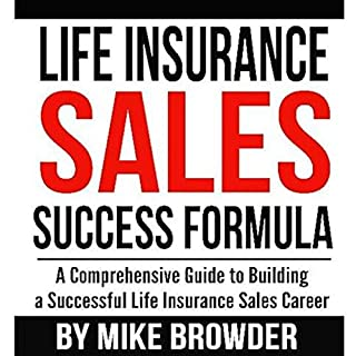 Life Insurance Sales Success Formula audiobook cover art