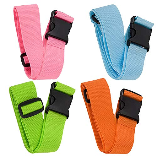 bluecosto Correas para equipaje Maleta Cinturón Add-A-Bag accesorios de viaje 600016