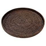 Artifacts Trading Company Artifacts Rattan Tray, One Size, Espresso