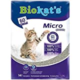 Biokat's Micro Clumping Classic Cat Litter virtually Dust-Free 2x14 Litres
