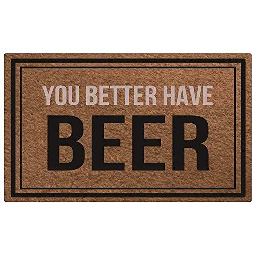 Sodnz Felpudo Es Mejor Que Tenga Cerveza Alfabeto