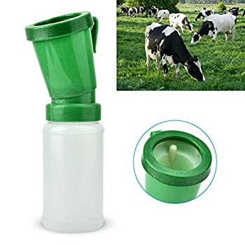 Jadpes 1Pc Goat Teat Dip Cup,Cow s Nipple Without Reflux Medicine Bath Cup Milking Machine Medicine Bath Cup Cow Breast Cleaning Cup Non Reflow Cow Nipple Cleaning