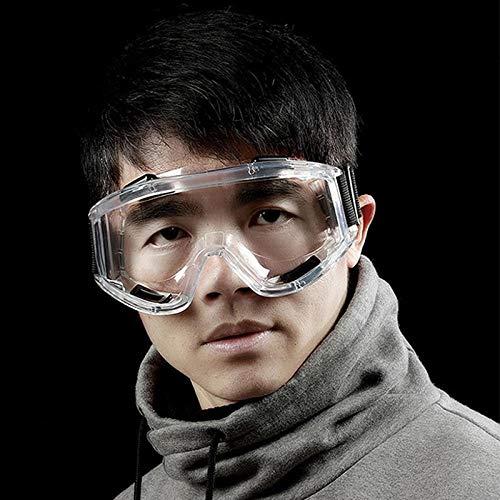Anti-stof Speeksel Anti-condens Winddicht Transparant Veiligheidsbril Oogbescherming Werkbril Multifunctioneel