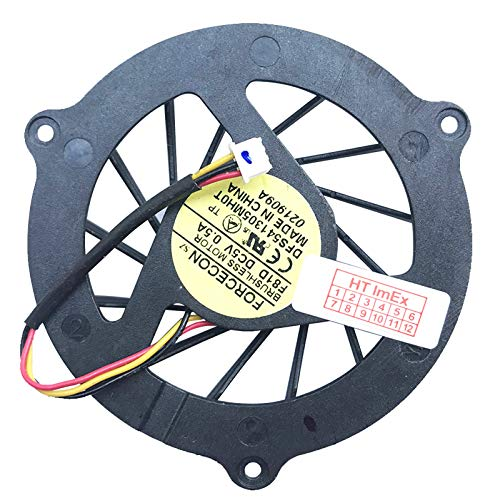 (Version Height: 12 mm) Fan Cooler Compatible with Acer Aspire 7235, Aspire 7535, Aspire 7535G, Aspire 7735, Aspire 7735G, Aspire 7735Z, Aspire 7735ZG, Aspire 7738, Aspire 7738G