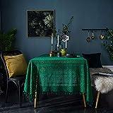 YATING Mantel Rectangular Lavable Mesa de Comedor de diseño para Mesa de Cocina o Sala de...