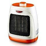 Cubierta calentador de cerámica personal calentador eléctrico con Llenado de aceite de Protección de Sobrecalentamiento radiador de calefacción de ambiente portátiles Eco-Smart Calentador de cerámica