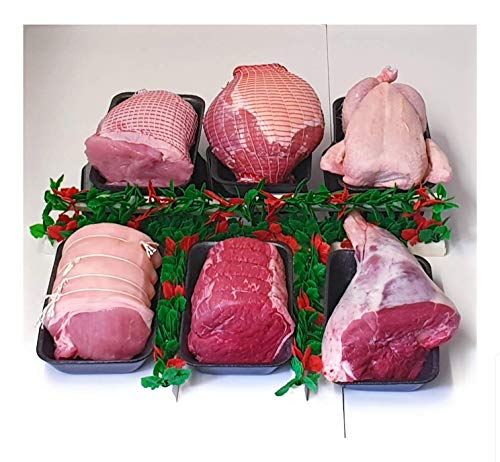 Extra Value Ultimate Bargain Family Weekend Meat Hamper Joint Pack Beef Pork Lamb Turkey Gammon Chicken Fresh Modern Family Buy Meat Pack