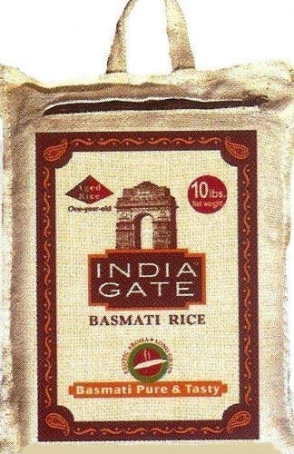 India Gate Basmati Rice, 10-Pounds Bags by India Gate