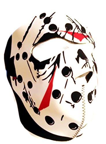 Gesichtsmaske Integral Neoprene Prator, Maske HOCKEY JASON DMONIAC 67140 Airsoft Paintball